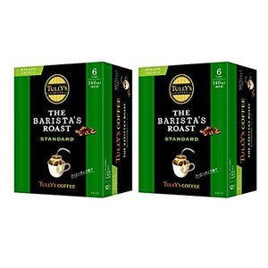 タリーズコーヒー バリスタズ ロースト (スタンダード) ドリップコーヒー 9.0g×6袋×2個