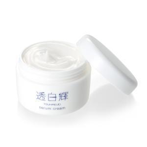 島田流 透白輝 セラムクリーム 60g 3in1(乳液、美容液、かっさクリーム)  プロイデア PROIDEA yuyu-honpo