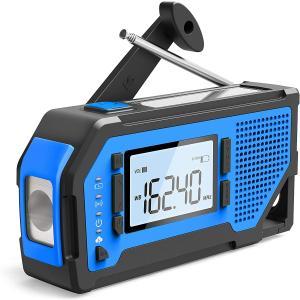 キヨラカ 防災ラジオ 役立つ君 QQ-Y01 4WAY電源 携帯充電 AM/FMラジオ 懐中電灯 SOSアラート|yuyu-honpo