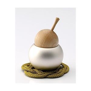 小泉屋 小さなおりん pear(ペア) 洋ナシ型 敷物付き  高岡銅器 仏具 可愛い オシャレ デザイン|yuyu-honpo