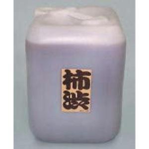 柿渋 21.6L 塗料 建物 塗装 天然塗料 柿渋染め 繊維 木材の保護 かきしぶ yuyu-honpo