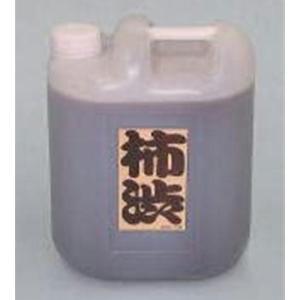 柿渋 9L 塗料 建物 塗装 天然塗料 柿渋染め 繊維 木材の保護 かきしぶ yuyu-honpo