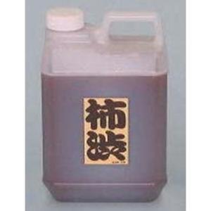 柿渋 1.8L 塗料 建物 塗装 天然塗料 柿渋染め 繊維 木材の保護 かきしぶ yuyu-honpo