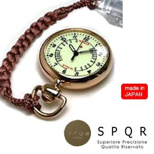 SPQR スポール NURSE WATCH ナースウォッチ ピンクゴールド 蓄光 アナログ文字盤|yuyu-honpo