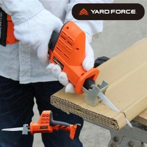 YARD FORCE コードレス18V高枝電動のこぎり 2WAY 手のこ/高枝きり ヤードフォース レシプロソー 代引き不可 yuyu-honpo