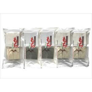 じょんのびの里 高柳製造 きねつきもち ギフトセット (白もち 草もち 豆もち) 8枚入り 5袋セッ...