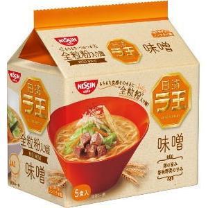 ●日清ラ王 5食袋 味噌■c6t3#-8G