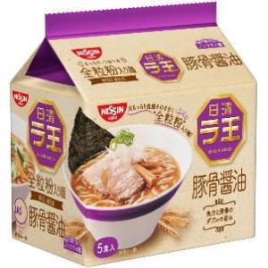 ●日清ラ王 5食袋 豚骨醤油■c6t3#-8G