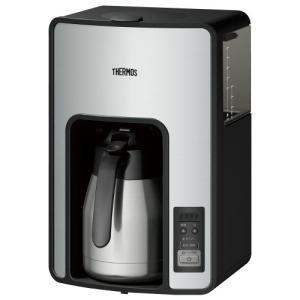 ●サーモス 真空断熱ポット コーヒーメーカー 【タイマーで前日予約が可能】 ECH-1000 CS ...