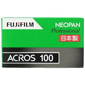 ●FUJIFILM 黒白ネガフイルム ネオパン 100 ACROS 35mm 36枚 1本 135 ...