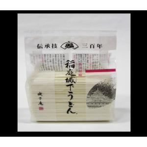 稲庭城下うどん (日本三大うどん) 熟練した職人の手延べから生まれる極上かつ希少な逸品!  徳用うどん500g×1袋 KF-65|yuzawamarugoto
