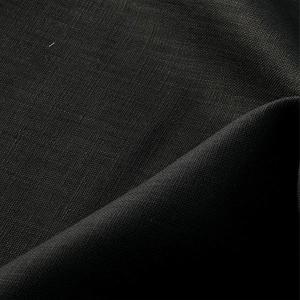 【数量5から】 生地 『麻(リネン) ブラック 』の商品画像