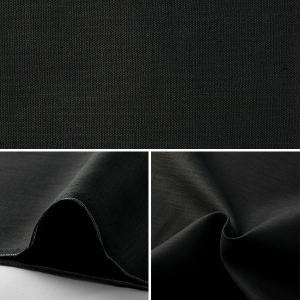 【数量5から】 生地 『麻(リネン) ブラック 』の詳細画像1