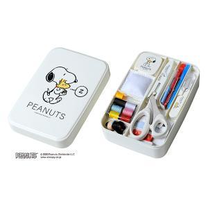 ソーイングセット 裁縫セット 『スヌーピーソーイングセット うす型タイプ NO.8559』 misasa ミササ|ユザワヤ