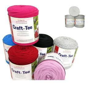 Craft−Tee(クラフト・ティー)   55-204(L.Grey) [Tシャツヤーン リサイク...