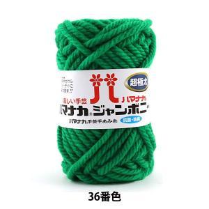 毛糸 『ハマナカ ジャンボニー 36番色』 Hamanaka ハマナカの商品画像|ナビ