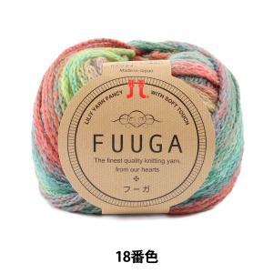 秋冬毛糸 『FUUGA(フーガ) 18番色』 Hamanaka ハマナカ  棒針・かぎ針ともに編みや...