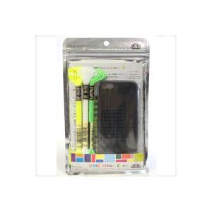 ★DMC Stitch Case(ステッチケース) for iPhone5(Iフォン5) (黒)/iP5-DSC-NOIR[刺しゅう/クロスステッチ]|yuzawaya