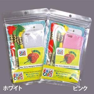 ★DMC 刺しゅうができるステッチケース はらぺこあおむし(ピンク)/GK12561B [iPhone5/スマホケース]|yuzawaya