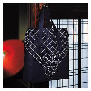 【ウィークリー】★オリムパス 刺し子キット ショッピングバッグ/43 yuzawaya