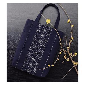 【ウィークリー】★オリムパス 刺し子キット バッグ「麻の葉」/172 yuzawaya