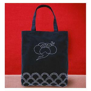 【ウィークリー】★オリムパス 刺し子キット バッグ「梅鶴」/212 yuzawaya