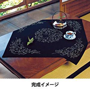【ウィークリー】★オリムパス 刺し子キット テーブルクロス「鉄線」/130 yuzawaya