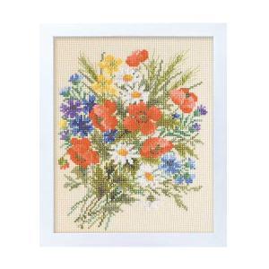 オノエ・メグミのフラワーガーデン、やさしい花刺しゅうキットです。 【難易度】初級〜中級  【デザイナ...