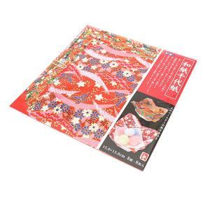 トーヨー 和紙千代紙 15.0/012003[おりがみ/折り紙/和柄/和紙/15cm]
