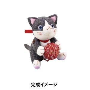 【猫の日最大50%オフ】 オリムパス ぬいぐるみ キット 毛糸大好き かわいいこねこ PA-748(...