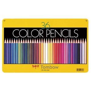トンボ色鉛筆 36色缶入りセット CB-NQ36Cの商品画像