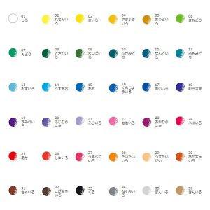 トンボ色鉛筆 36色缶入りセット CB-NQ36Cの詳細画像1