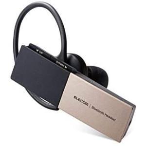 エレコム Bluetooth ヘッドセット USB Type-C(充電端子) 1年間保証 ゴールド ...