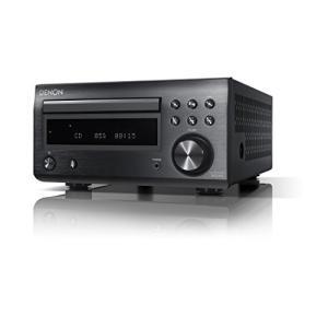 デノン Denon RCD-M41 ワイドFM AM/FMラジオチューナー ディスクリートアンプ搭載 Bluetooth?対応 CDレシーバー ブラッ?の画像