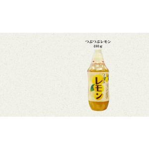 つぶつぶレモン480g【※賞味期限2021年11月9日以降の商品になります】|yuzuoukoku