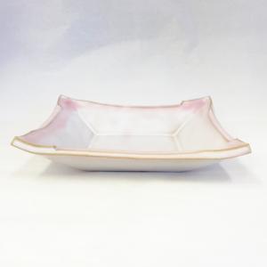 萩焼 小皿 「桜彩」  ywebg