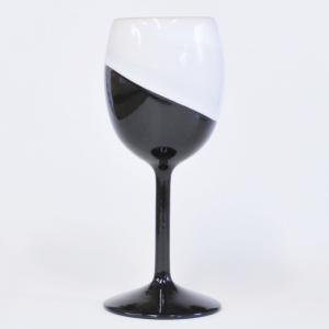 萩焼 ワインカップ 「白/黒掛分」 日本酒に最適 ywebg