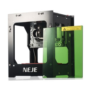 彫刻機 NEJE 3000mW レーザー彫刻機 スマートフォン対応 加工機 刻印 レーザーカッター ...