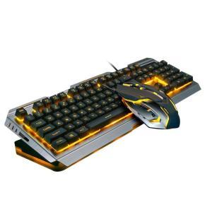 キーボード ALLOYSEED USB ゲーミングキーボードマウスゲーマープロフェッショナルセット ...