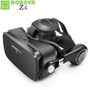 VRゴーグル 仮想現実 bobovr z4 vrボックス2.0 3dメガネボボvr google段ボ...
