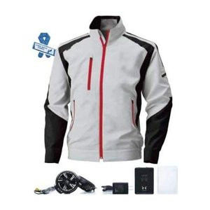 ビッグボーン 空調服 空調風神服 長袖ブルゾン BK6007 空調服+ハイパワーファンセット+バッテ...