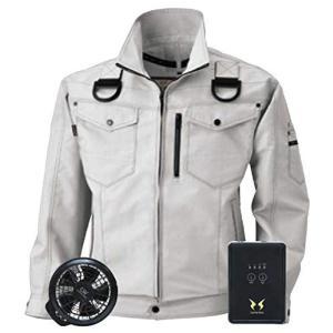 ビッグボーン 空調服 空調風神服 長袖ブルゾン BK6037F 空調服+ハイパワーファンセット+バッ...
