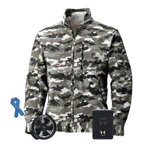 ビッグボーン 空調服 空調風神服 長袖ブルゾン BK6027K 空調服+ハイパワーファンセッ+バッテ...