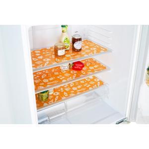 ワイズコーポレーション 冷蔵庫消臭汚れ防止シート OR O-1019