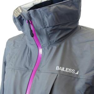 バイレス(BAILESS) BRW1600 ウィメンズ ゴアテックス レインスーツ/グレー