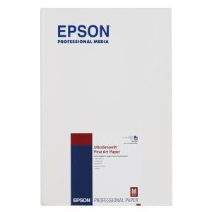 エプソン 写真用紙 UltraSmooth Fine Art Paper A3ノビ/25枚 KA3N25USFA|yyyr1206