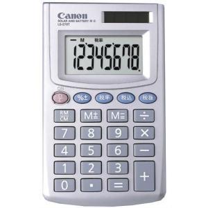 CANON ミニ手帳タイプ電卓(名刺サイズ) 8桁 LS-270T|yyyr1206