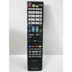 シャープ 液晶テレビ(AQUOS)純正リモコン GB026WJSA(0106380386)|yyyr1206