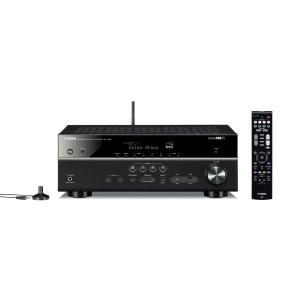 ヤマハ AVレシーバー 7.1ch Dolby Atmos DTS:X Bluetooth Wi-Fi ネットワークオーディオ ハイレゾ ブラック RX-V583(B)|yyyr1206
