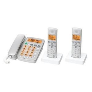 シャープ デジタルコードレス電話機 子機2台付 DECT1.9GHz JD-G40CW-S シルバー 【送料無料(沖縄県を除く)】|yz-office